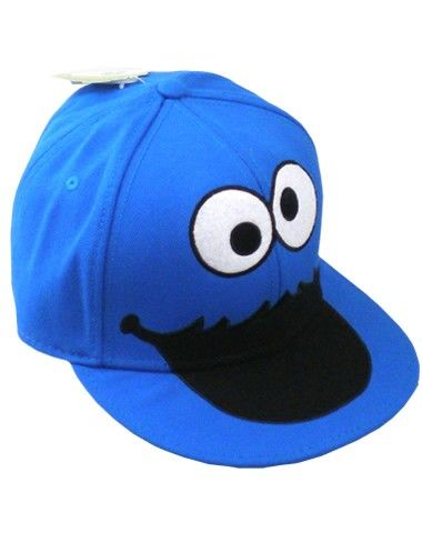 7962c3cf COOKIE MONSTER FLAT BILL HAT | Hats For Days | Flat bill hats, Hats ...