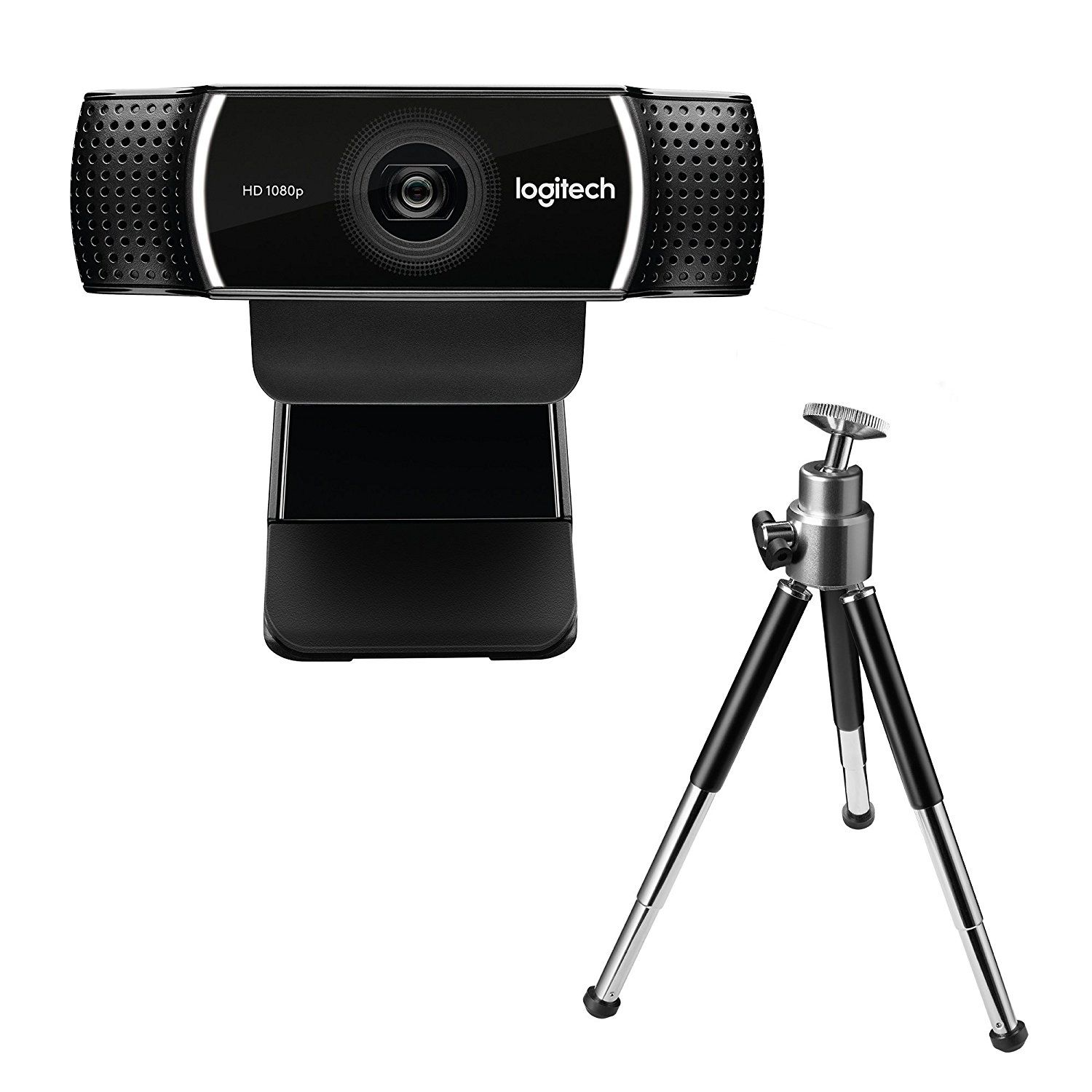 Amazon Stativ Logitech C922 Pro Stream Webcam Schwarz Amazon De Computer
