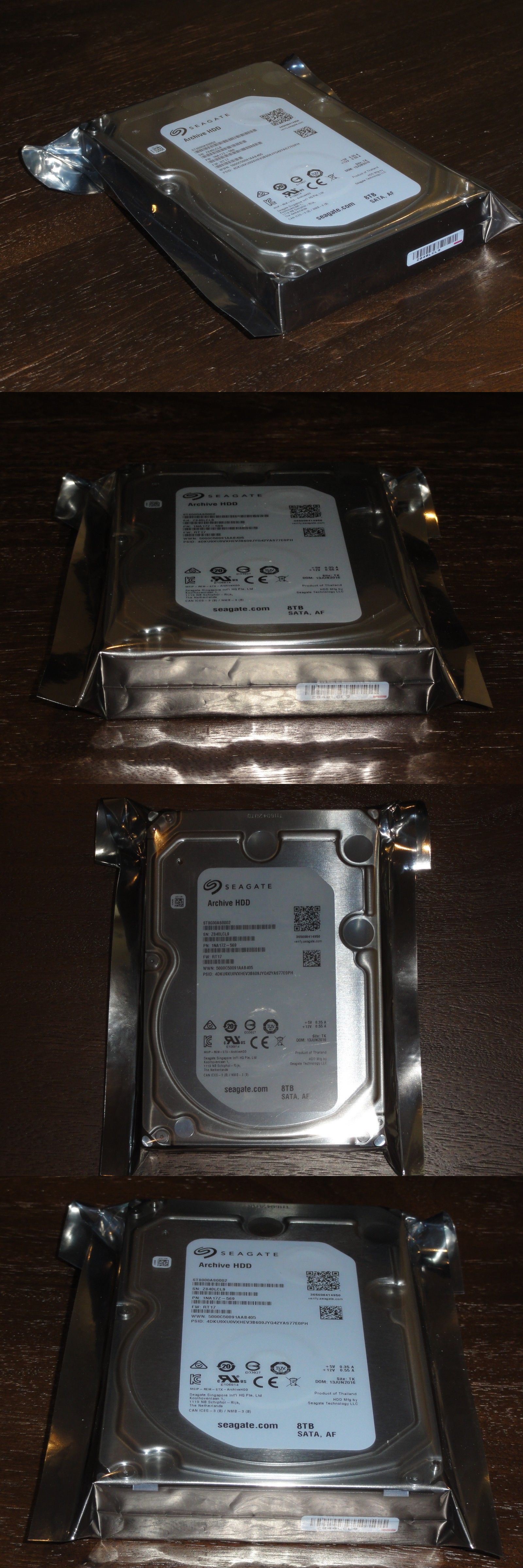 Computers Tablets Networking Seagate Archive Hard Drive 8tb Hdd Hardisk Pc Internal 35 1tb 1000gb 5900rpm St8000as0002 Harddrive