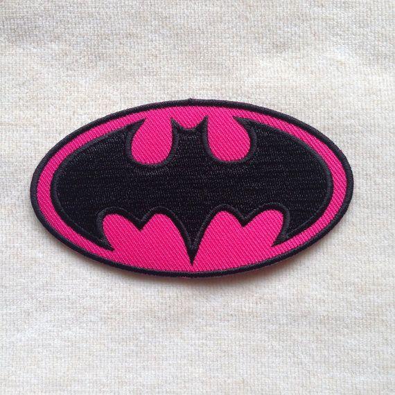 Batman superhéroe insignia hierro en remiendo por PatchForestShop
