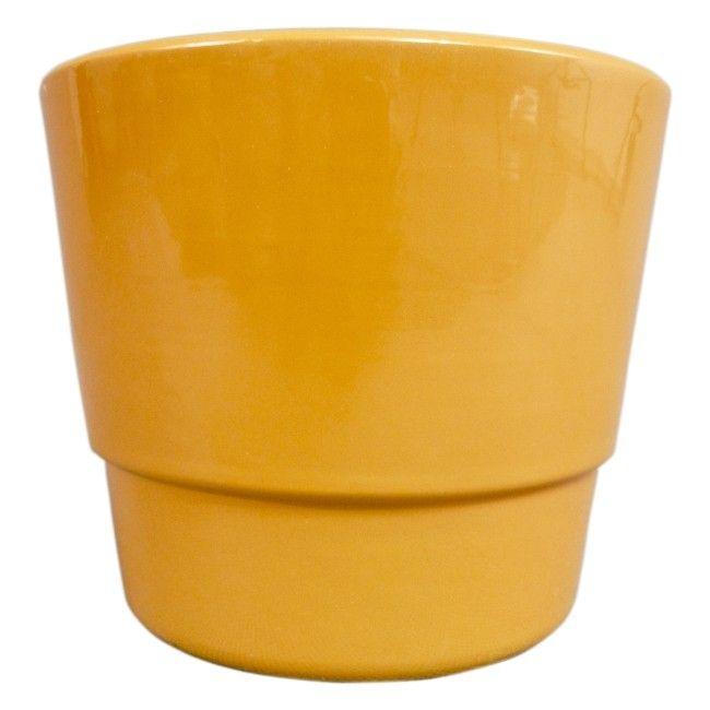 Oslonka Doniczki Klasyczna Cermax 12 Cm Pomaranczowa Planter Pots Planters Pot