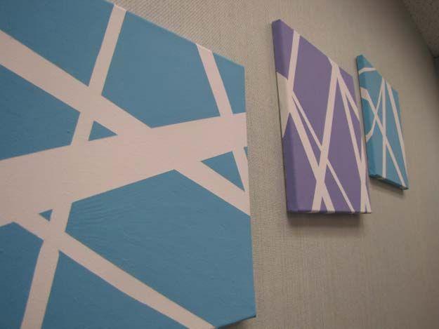 26 Fabulously Purple Diy Room Decor Ideas Diy Canvas Wall Art Diy Canvas Art Diy Canvas