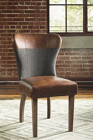 Ashleys 200 Saw In Person Zenfield Dining Room Chair