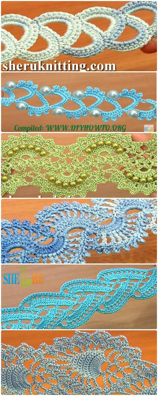 Crochet tape free patterns tutorial crochet free pattern and collection of crochet tape free patterns tutorials crochet tape lace tape border bankloansurffo Gallery