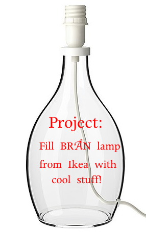 How To Fill A Br 197 N Lamp From Ikea Ikea Lamp Furniture