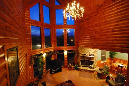 smoky mountain lodge luxury 7 bedroom gatlinburg cabin rental rh pinterest com smoky mountain cottages for rent smoky mountain lodging