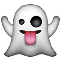 Ghost Emoji U1f47bue11b Emoji In 2019 Emoji Halloween