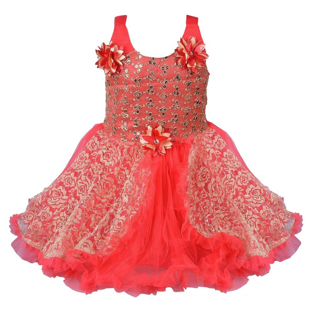 6892ceb1531f Buy Online this amazing red color Net Frock Dress For baby Girls ...
