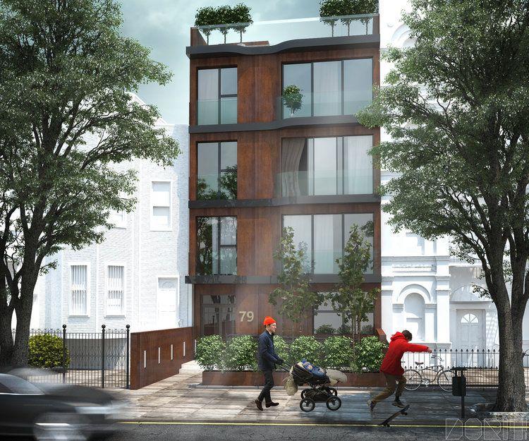 Sunlit View Of A Luxury Brooklyn Brownstone Luxury Condo Luxury Apartments Green Street