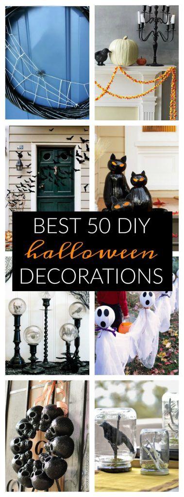 Best 50 DIY Halloween Decorations DIY Halloween, Decoration and