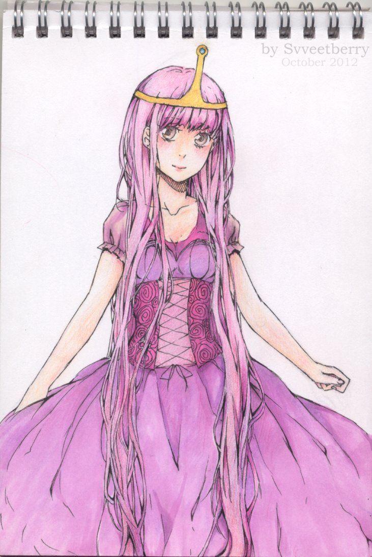 princess bubblegum anime | Princess Bubblegum from ...  princess bubble...