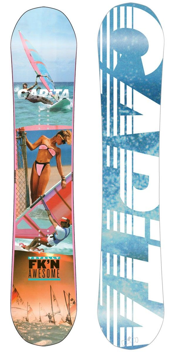 bad0dd49676 Snowboarding · Capita Totally Fkn Awesome Snowboard 2013. The name says it  all. This board handles