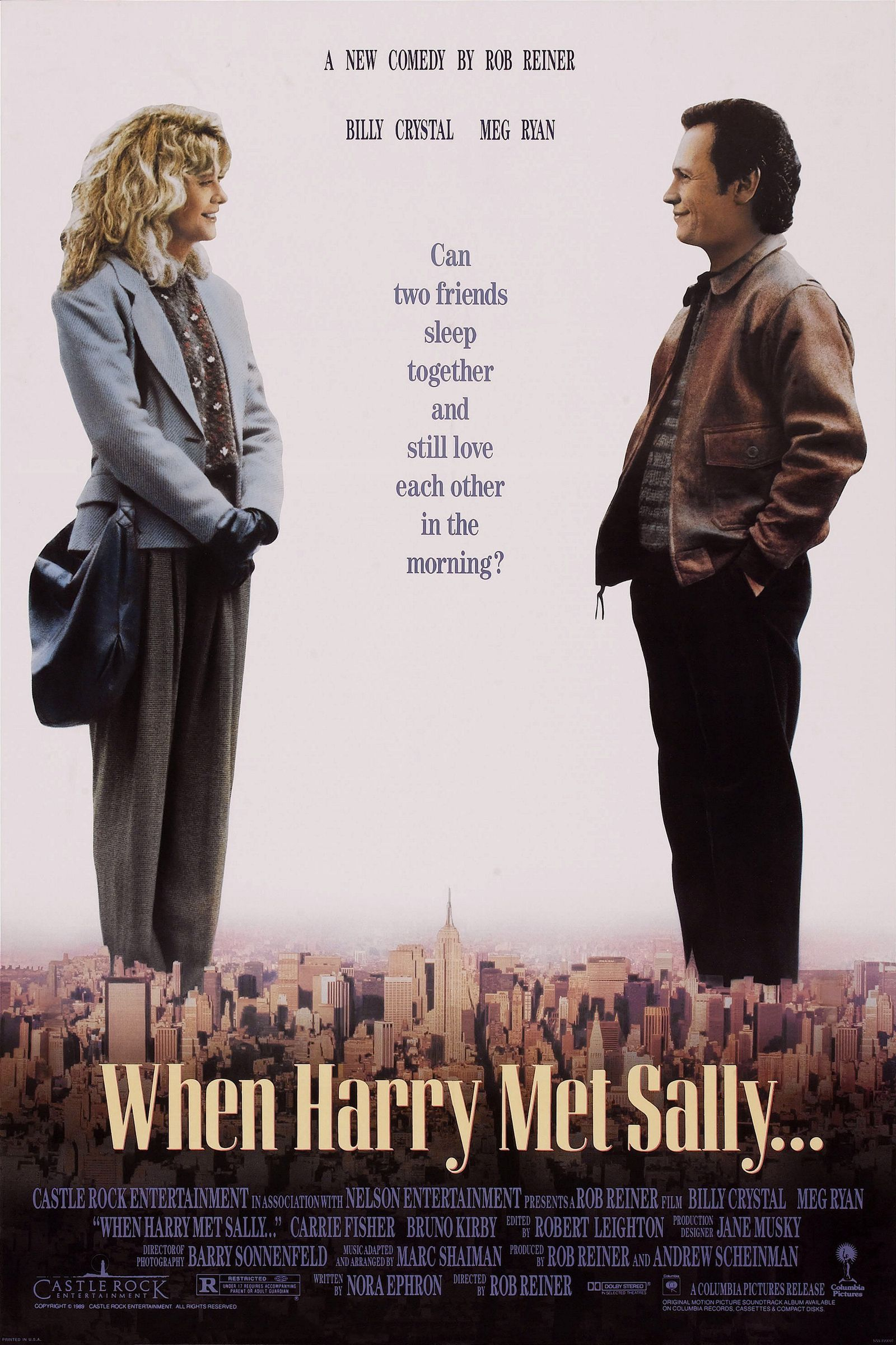 The Best 80s Movies Ever Made When Harry Met Sally Sally Movie Harry Met Sally