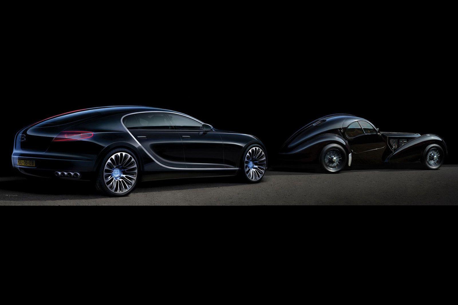 Captivating Bugatti 16C Galibier Nice Design