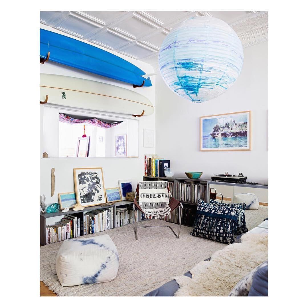 Our Brooklyn Apartment As Seen In @surfshackbook Looking