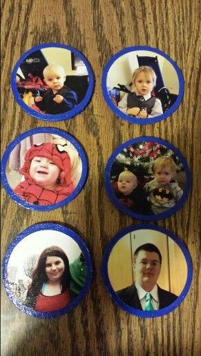 Picture fridge magnets