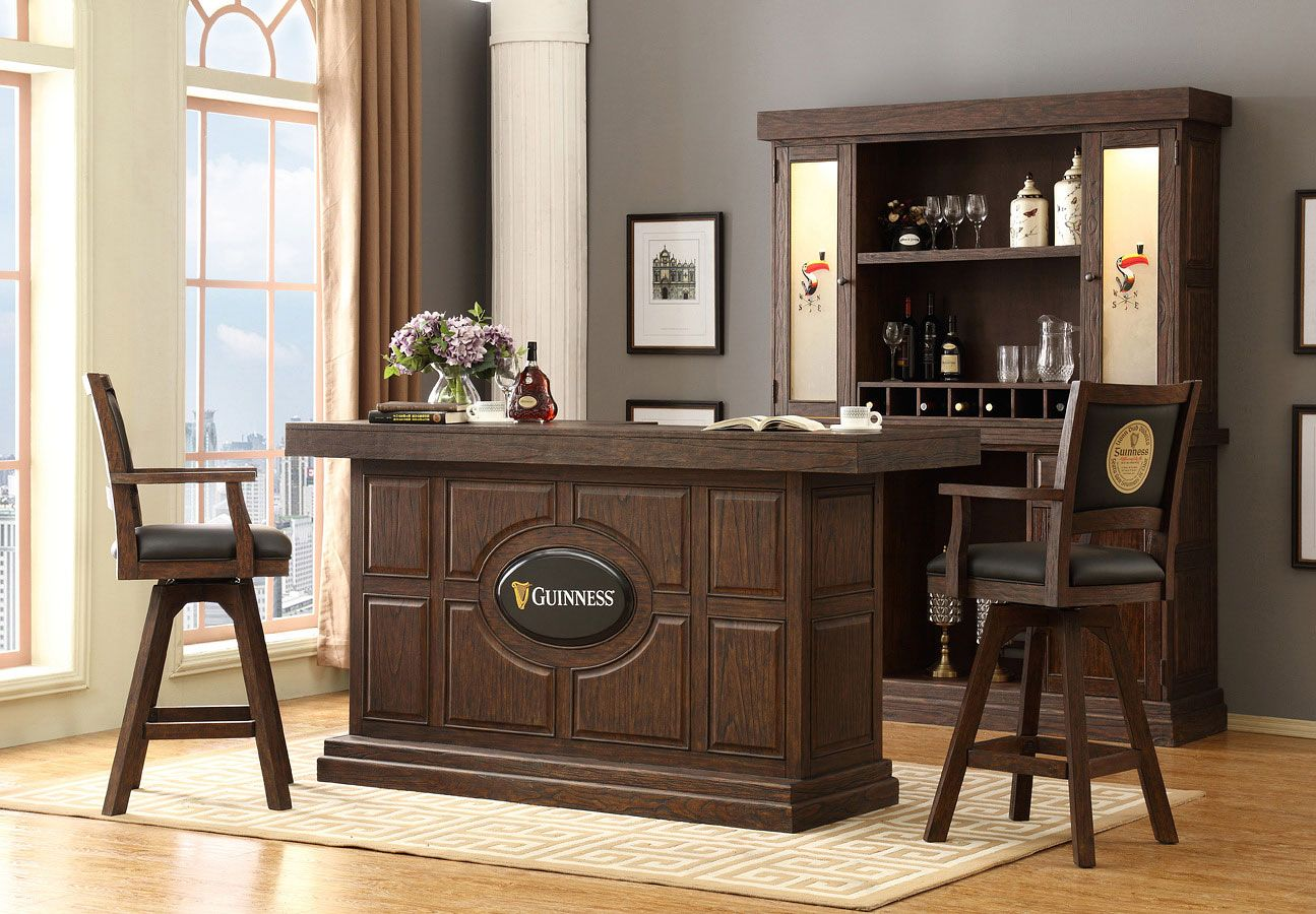 Guinness 82 Inch Home Bar Set Home Bar Sets Home Bar Areas Small Bars For Home