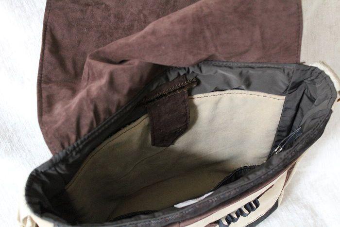 Diese Messenger Bag bietet viel Stauraum und ist genau richtig für alle, die Ordnung in ihren Taschen lieben. So findet man hier unter anderem auf der Vorderseite unterhalb des Taschendeckels zwei...