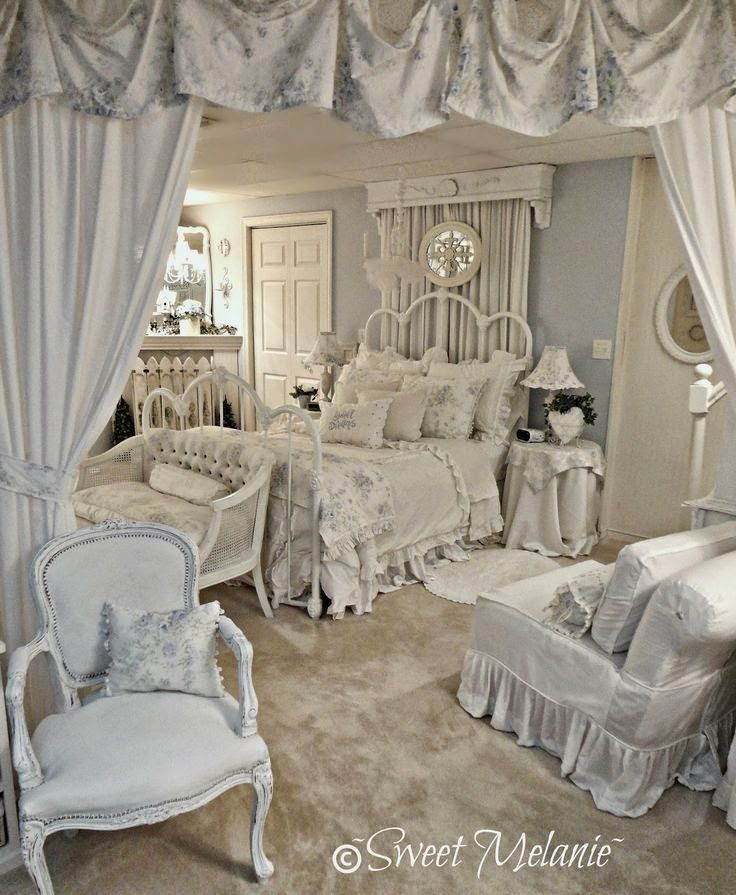 shabby cottage pinterest schlafzimmer romantisch wohnen und romantisch. Black Bedroom Furniture Sets. Home Design Ideas