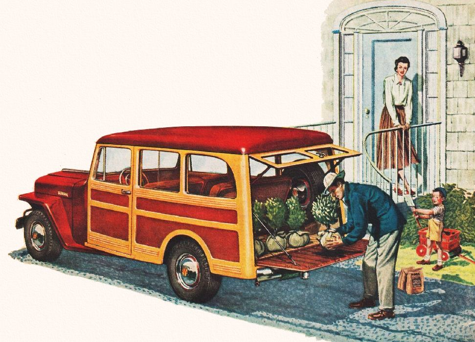 1949 Jeep Station Wagon