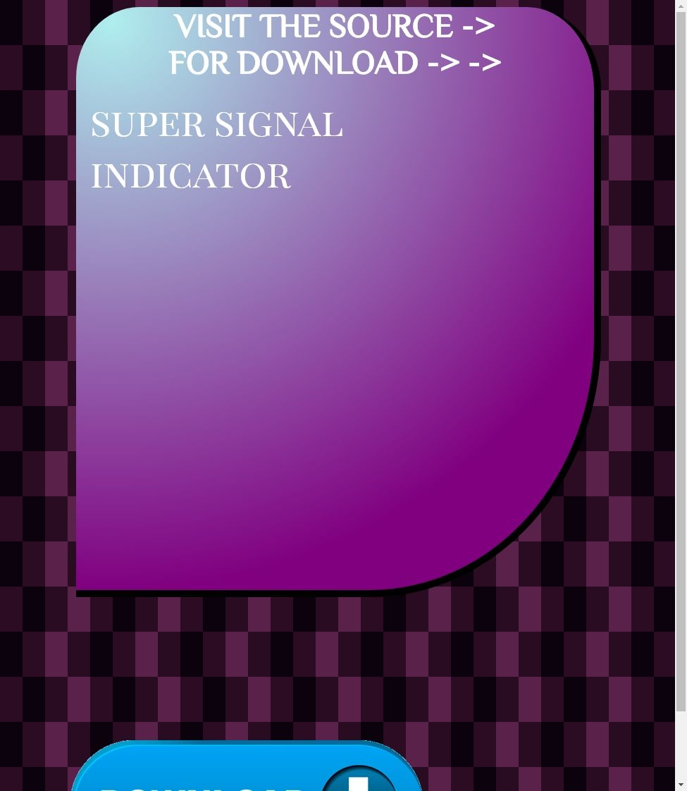 Super Signal Indicator Download Tsunami Sound Effects Vidange Pro