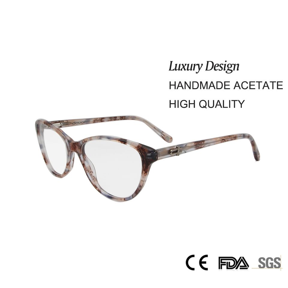 >> Click to Buy << High Quality Cat'S Glasses Women Optical 2017 Luxury Handmade Acetate Clear Lens Miopia Prescription Eyewear  #Affiliate