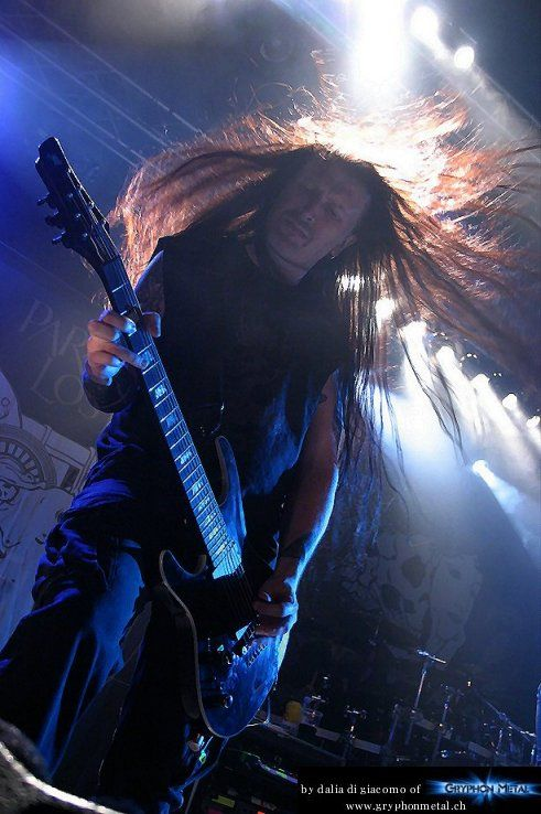 Paradise Lost in Solothurn_2012 - a GryphonMetal.ch  live report. Photo by dalia di giacomo.