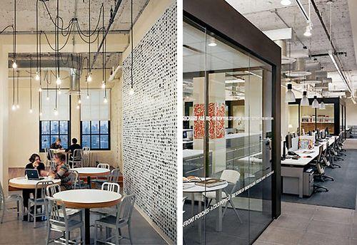 Modern Industrial Office Gensler Modern Office Space Design