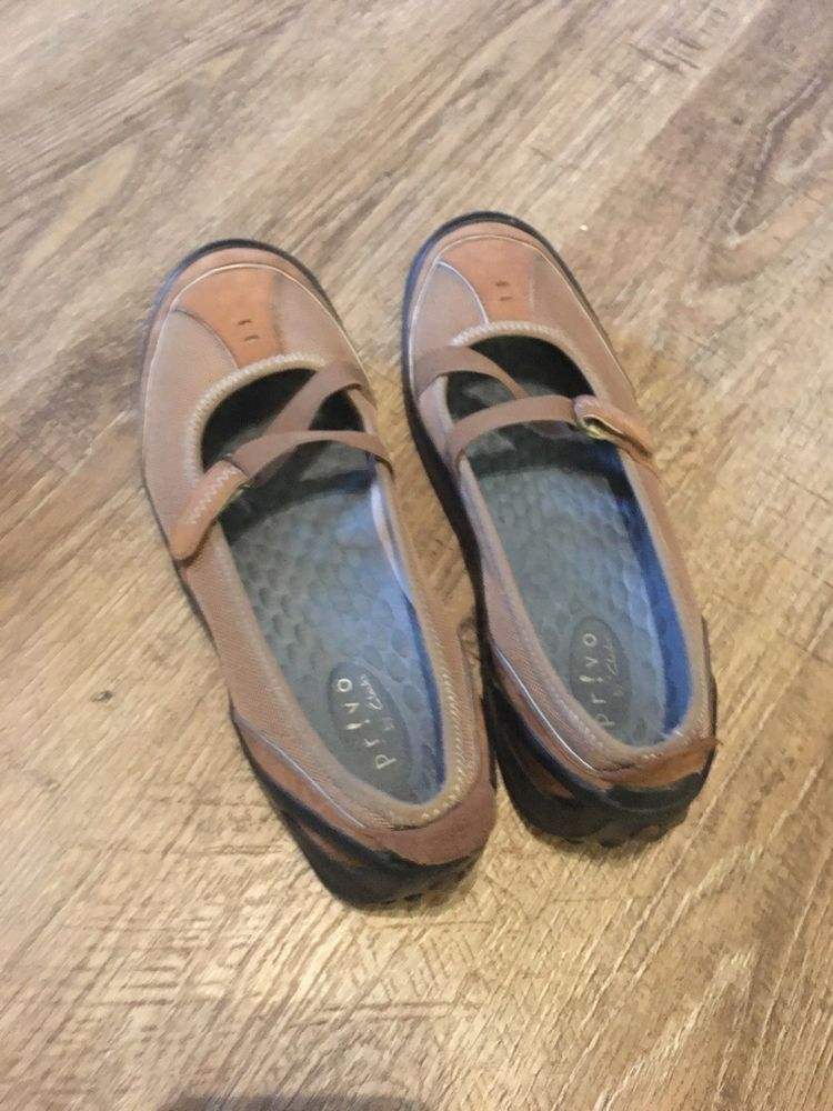 22d82d314dd0 Women s Privo by Clarks Ballet Flats Loafers Shoes Size 10m Brown Mary Jane  K9  fashion  clothing  shoes  accessories  womensshoes  flats (ebay link)