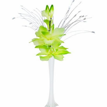 Artificial flowers nylon net lime green artificial flowers flower artificial flowers nylon net lime green artificial flowers flower arrangement in vase no description http mightylinksfo Images