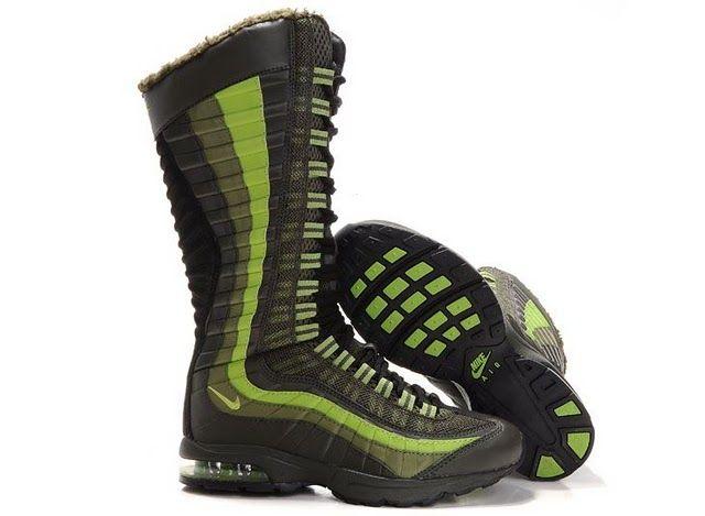 Nike Air Max 95 Zen Venti GreenYellow Womens Boots. I have