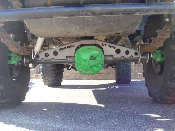 Xj Ford 8 8 Axle Swap Kit W Truss Iron Rock Off Road Jeep