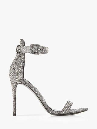bc3708ffe50 BuySteve Madden Mischa Embellished Ankle Strap Heeled Sandals