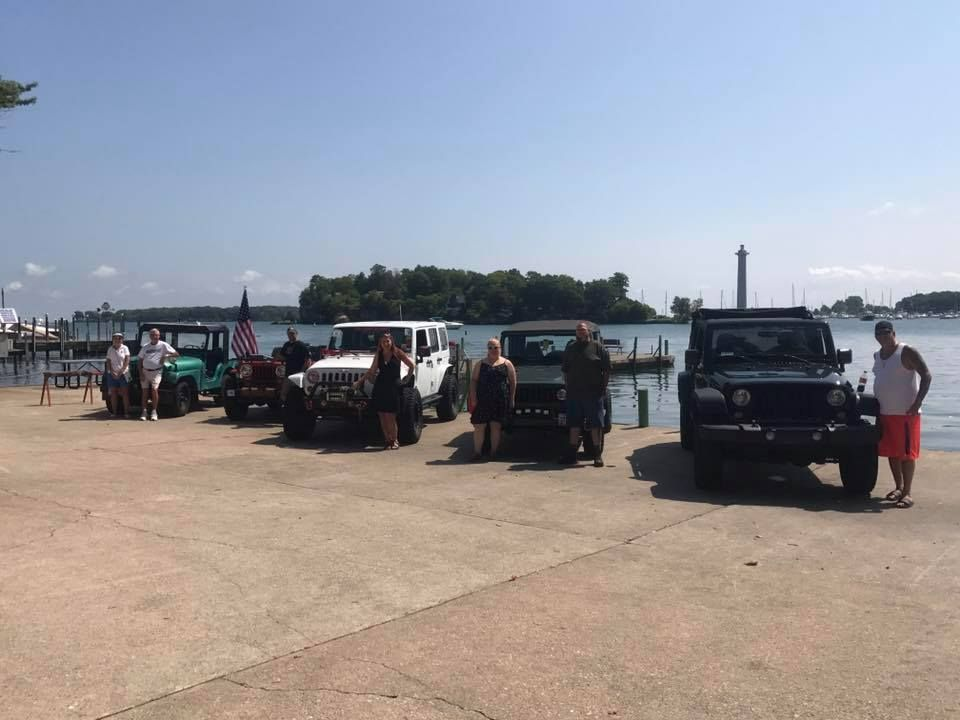 Jeep Invasion At Put In Bay Ohio Put In Bay Ohio Jeep Life