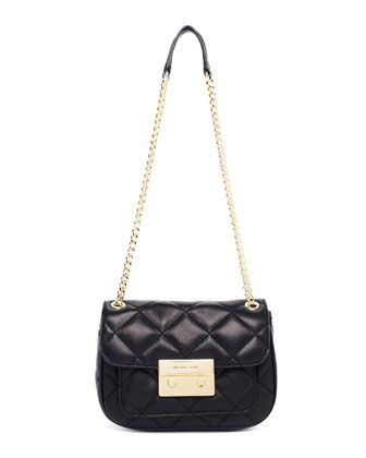 4404fd527307 MICHAEL Michael Kors Sloan Small Quilted Shoulder Bag.  268