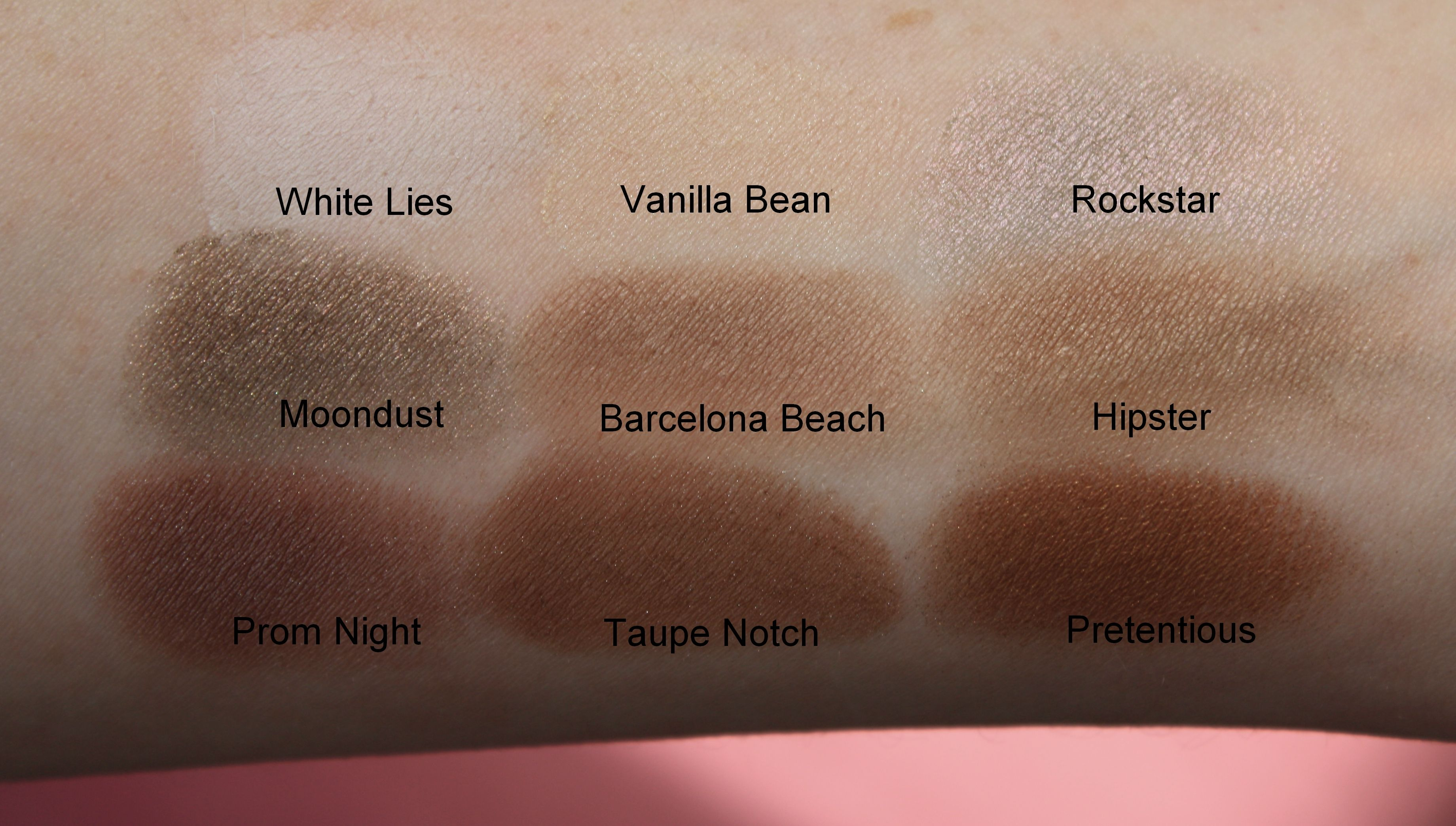 Favourite Makeup Geek Eyeshadows Makeup Geek Eyeshadow Swatches Makeup Geek Makeup Geek Eyeshadow