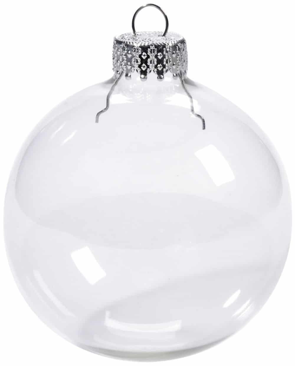 Bolas de navidad transparente con capuch n diy - Bolas navidad transparentes ...