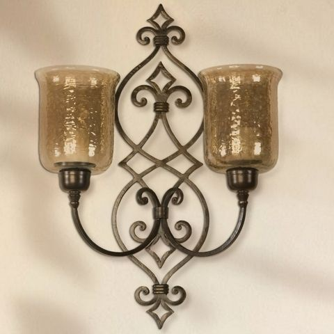 Tuscan Wall Sconce  Dining Room Ideas  Pinterest  Wall Sconces Enchanting Candle Wall Sconces For Dining Room Inspiration Design