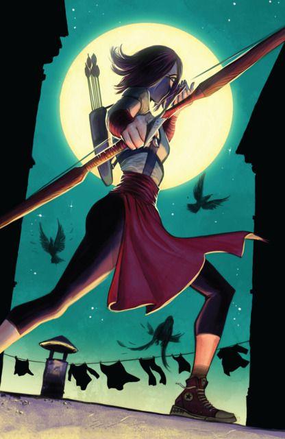 Emiko Queen (Character) - Comic Vine   Green Arrow / Arrow