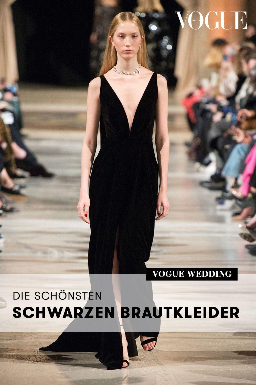 Wurden Sie Ein Schwarzes Brautkleid Tragen Diese Braute Trauten Sich Schwarzes Brautkleid Abendkleid Schwarz Kleider