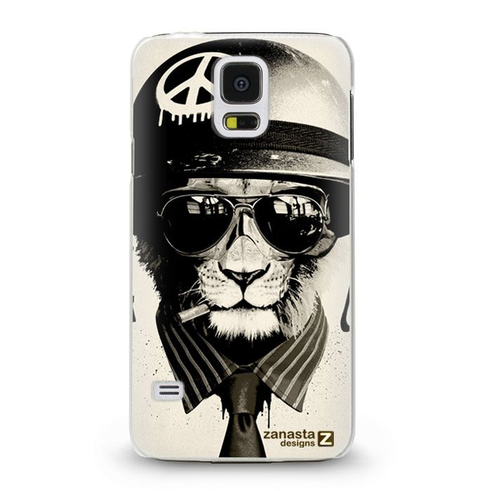 designs back cover f r samsung galaxy s5 army lion. Black Bedroom Furniture Sets. Home Design Ideas