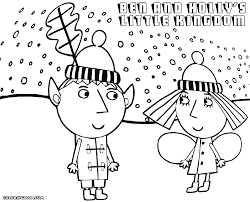 Image Result For Ben And Holly Coloring Pages Pdf Penelope S