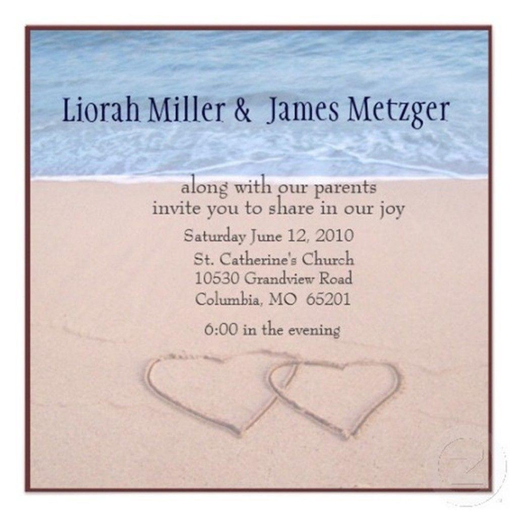 Free Beach Wedding Invitation Templates To Download Stuff To - Beach wedding invitations templates free