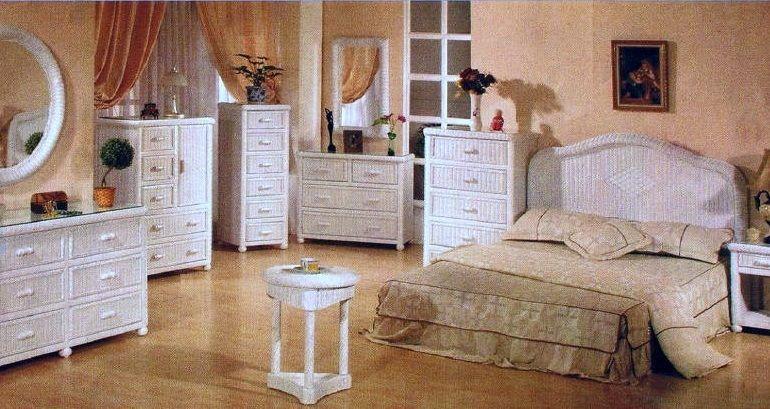 Wicker Bedroom Furniture \u2013 Feel the Glory and Elegance of the
