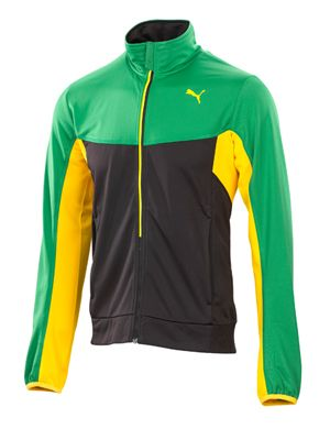 Puma Men's FAAS Track Jacket - nice jamaican colors