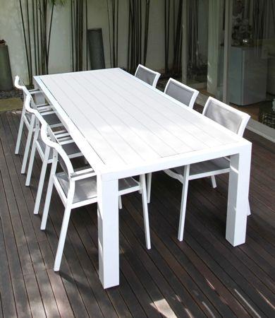 Fat Aluminium Outdoor Table (180cm)