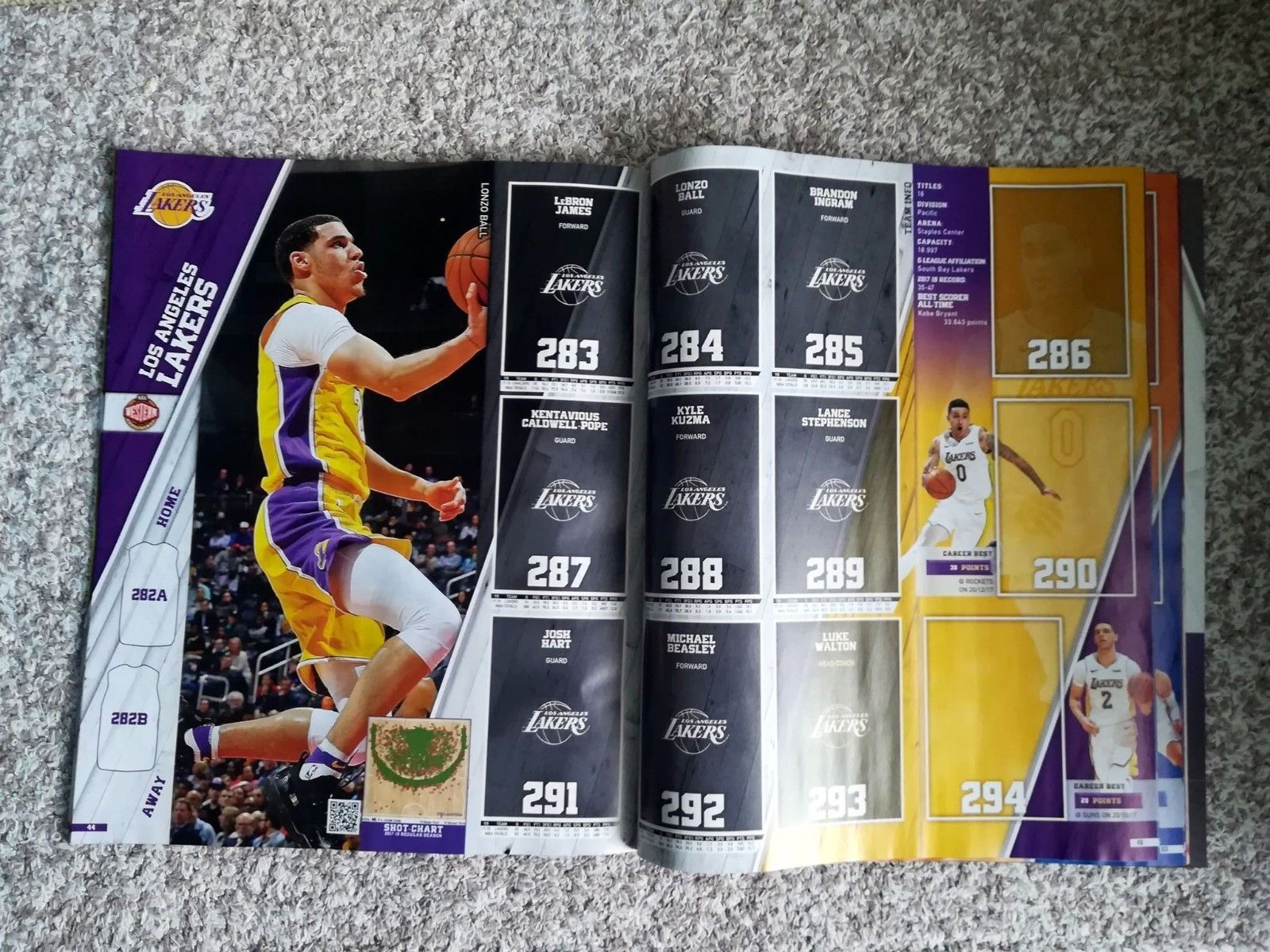 New Nba Basketball Panini 2018 2019 18 19 Empty Sticker Album Leeralbum Vuoto Ebay Sticker Album Nba Basketball Basketball Cards [ 1200 x 1600 Pixel ]
