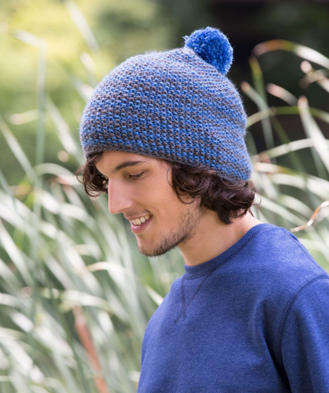 Knit this seed stitch cap for the perfect coolweather gift. Make it ...