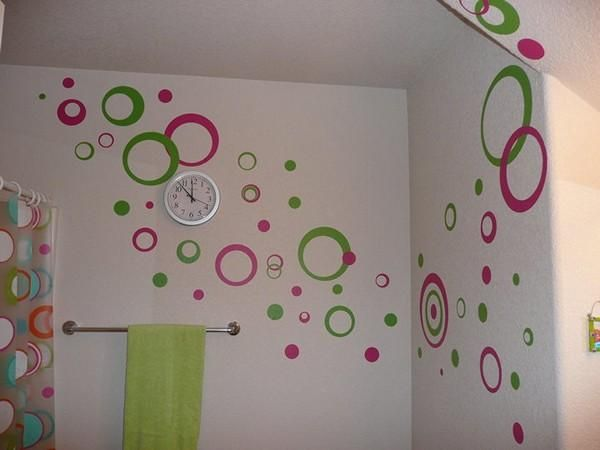 Marvelous Paint And Decorating, 22 Bright Wall Painting Ideas Photo Gallery