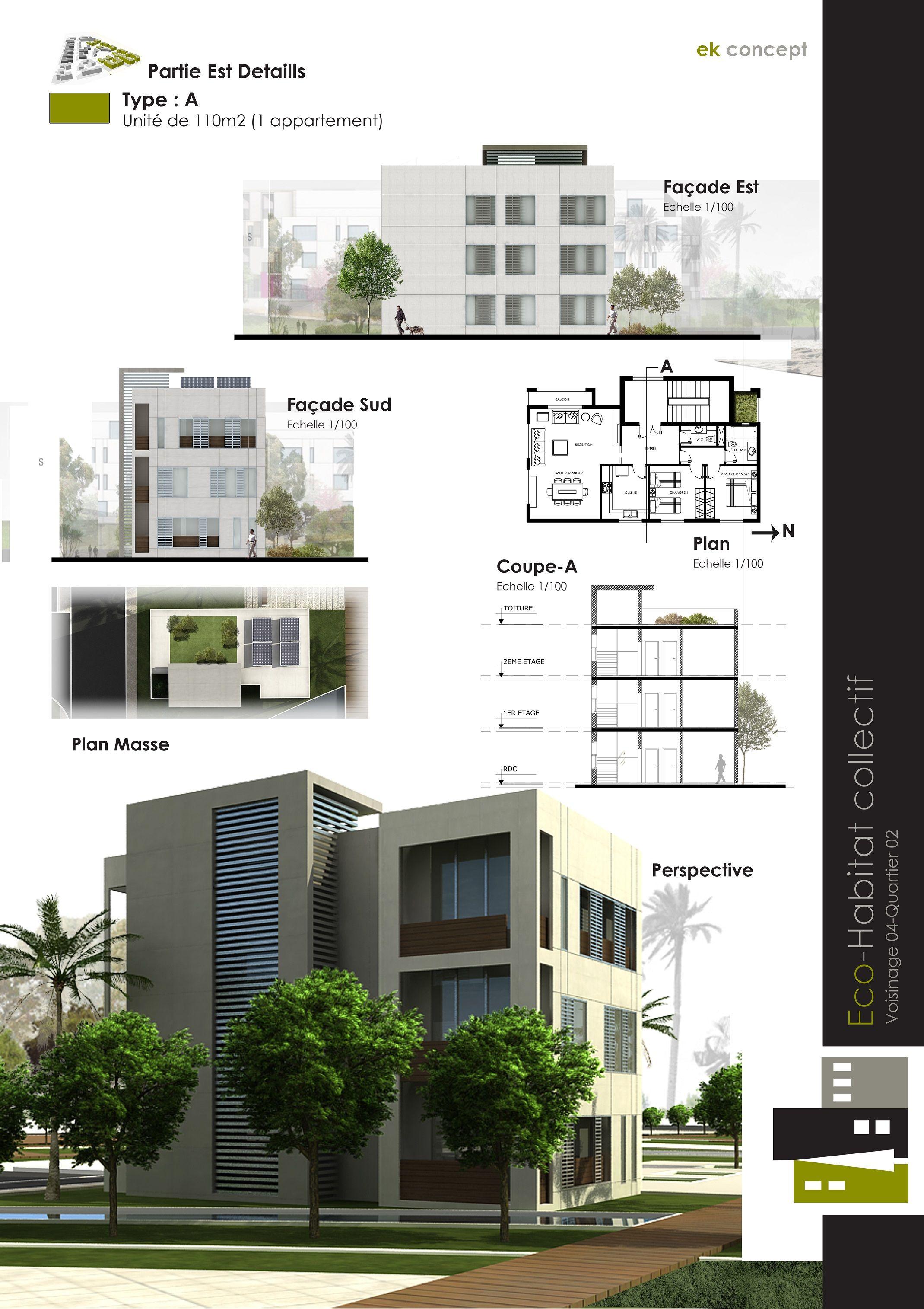 Ekconcept Master Plan Algeria Arquitectura De Edificios